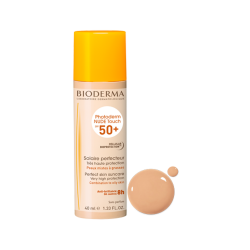 BIODERMA PHOTODERM NUDE TOUCH SPF 50+ ochronny podkład mineralny 40 ml naturalny