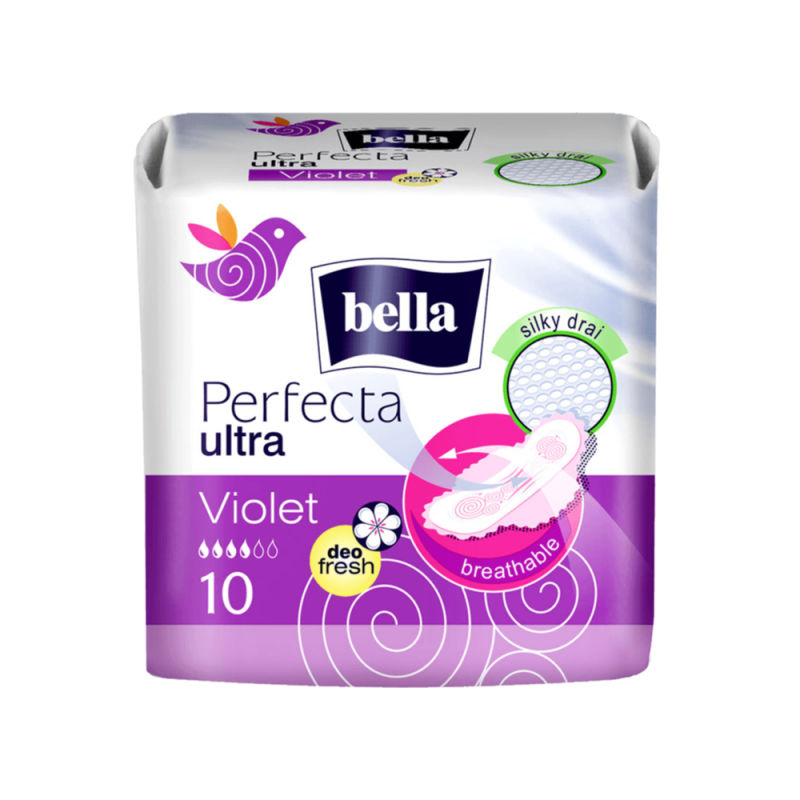 Podpaski BELLA PERFECTA VIOLET DEO FRESH 20 sztuk
