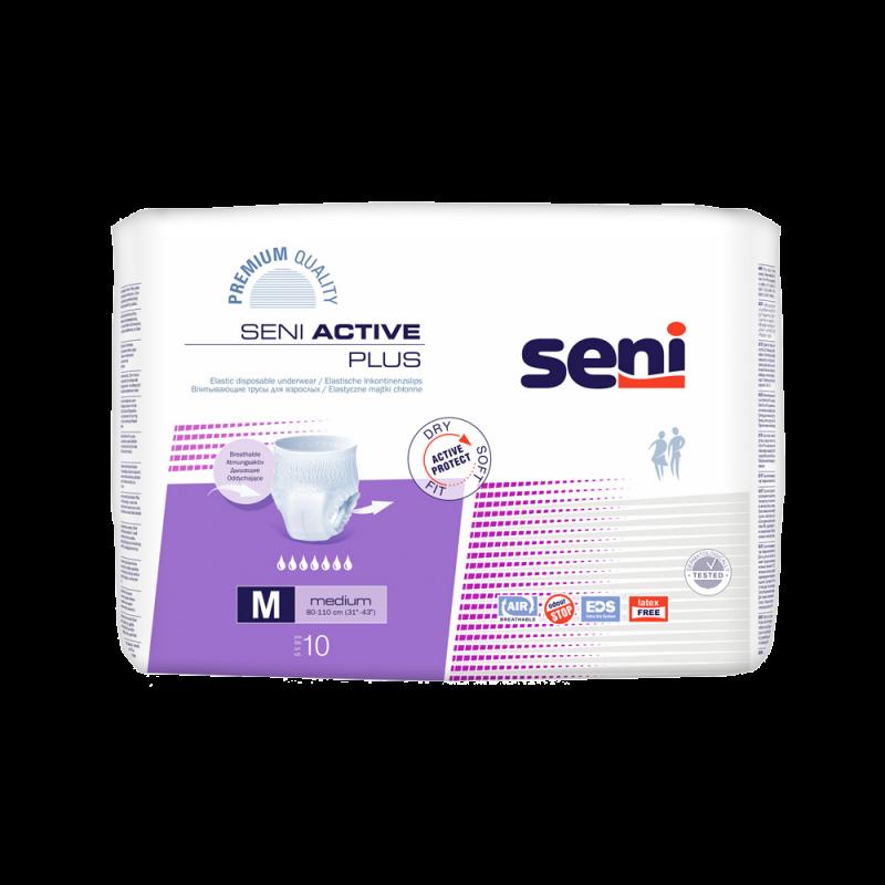 Majtki chłonne Seni Active Plus Medium 10 sztuk