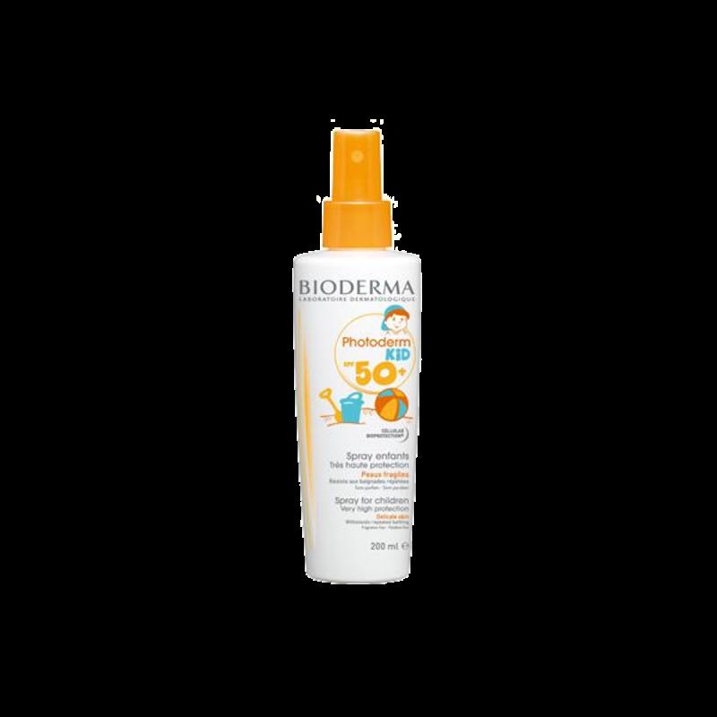 BIODERMA PHOTODERM KID Ochronny spray dla dzieci  SPF50+ 200 ml