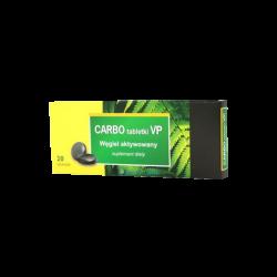 CARBO VP węgiel aktywowany, 20 tabletek, Valeant