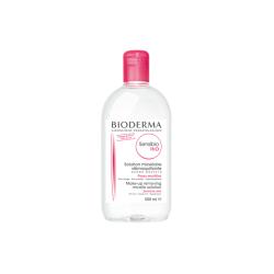 BIODERMA SENSIBIO H20 Płyn micelarny do oczyszczania twarzy i demakijażu 500 ml + 500 ml