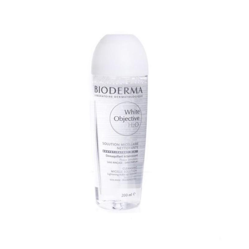 BIODERMA WHITE OBJECTIVE H2O Płyn micelarny do oczyszczania i demakijażu twarzy 200 ml