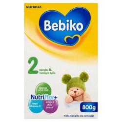 Bebiko 2 Mleko powyżej 6 miesiąca proszek 800 g, NUTRICIA