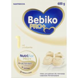 Bebiko Pro+ 1 Mleko Początkowe proszek 600g, NUTRICIA