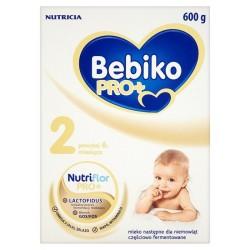 BEBIKO Pro+ 2 powyżej 6 miesiąca proszek 600g, NUTRICIA