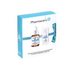 PHARMACERIS A Zestaw Koncentrat z witaminą E 30 ml + Krem przeciwzmarszczkowy pod oczu 15 ml