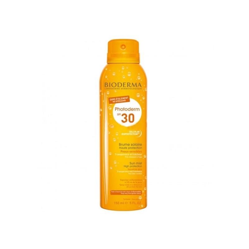 BIODERMA PHOTODERM BRUME SOLAIRE SPF 30 Mgiełka do ciała i twarzy, 150 ml