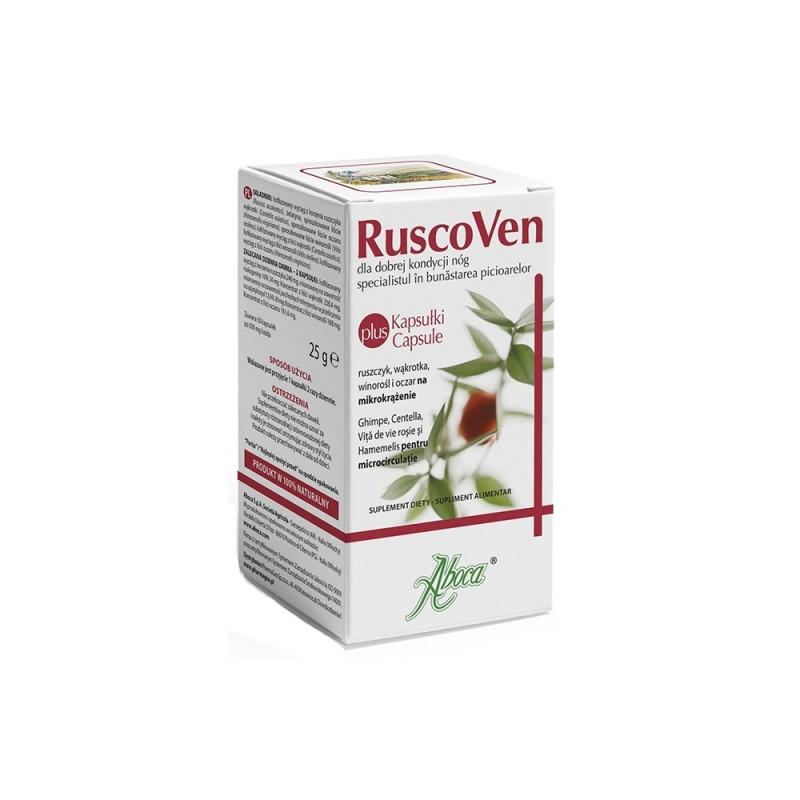 Ruscoven Plus, 50 kapsułek, ABOCA