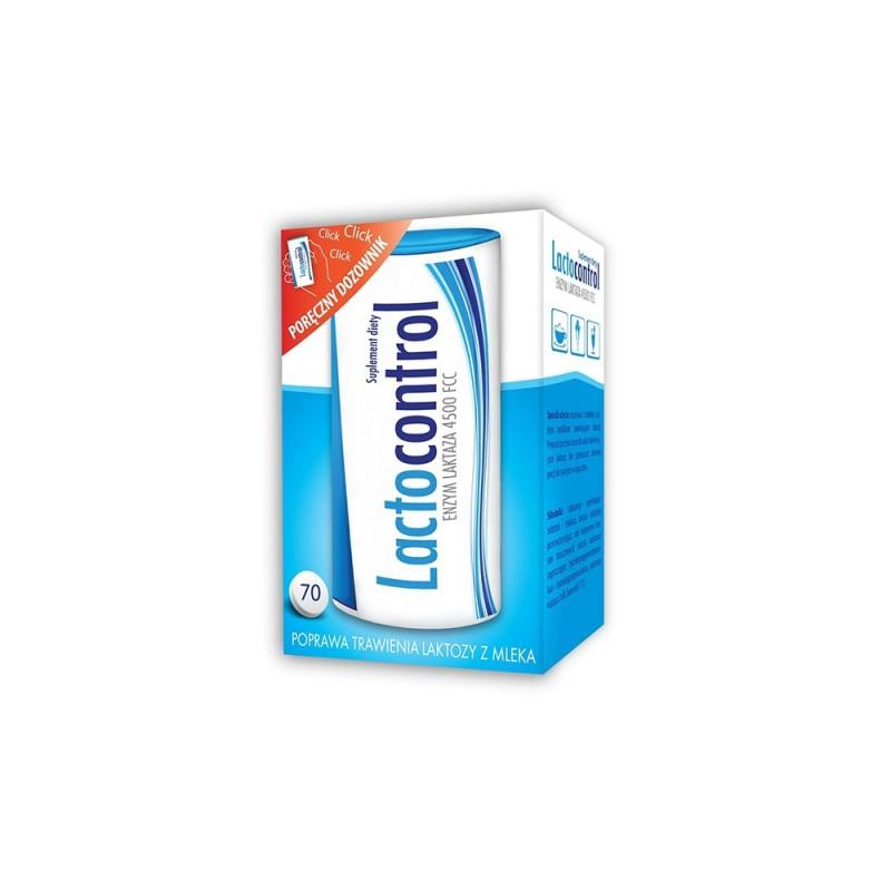 Lactocontrol, 70 tabletek powlekanych, Zdrovit