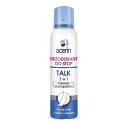 ANIDA ACERIN TALC Dezodorant przeciw grzybicy i poceniu sie stóp, 150 ml