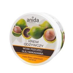 ANIDA Krem odżywczy wosk pszczeli, olej makadamia, 125 ml