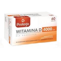 Protego Witamina D 4000 j. m.60 kapsułek elastycznych, Salvum