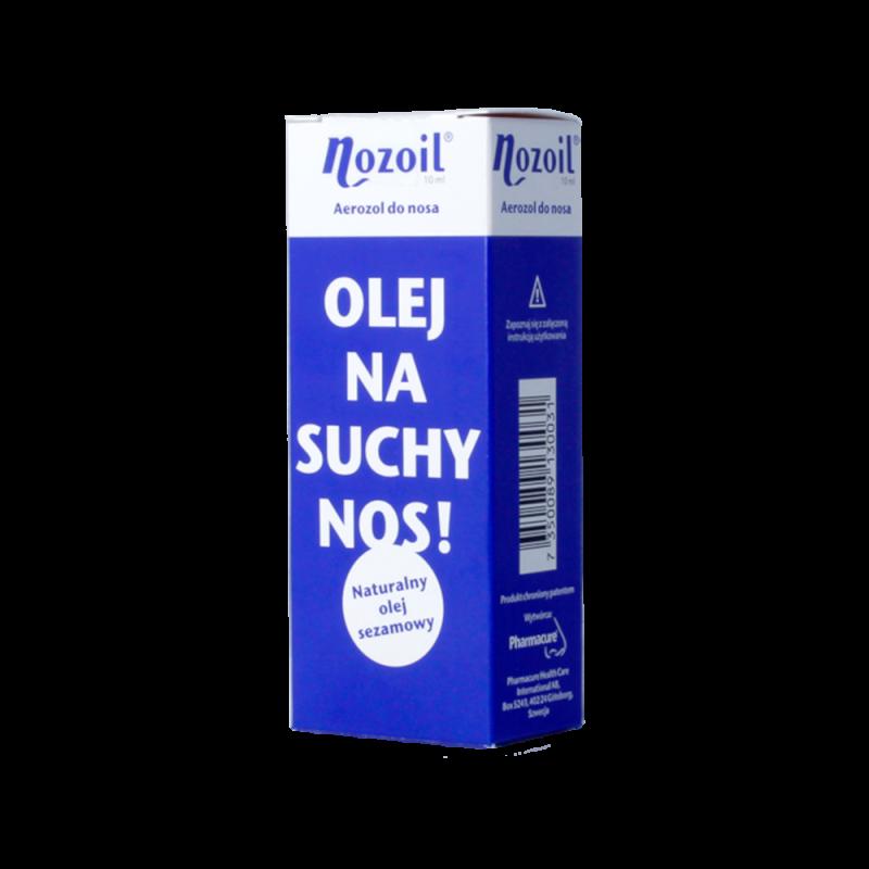 Nozoil aerozol do nosa, 10 ml, MYLAN SP. Z O.O
