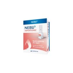 Nebu Hipertonic hipertoniczny roztwór do inhalacji 3% , 30 ampułek a 5 ml, POLPHARMA