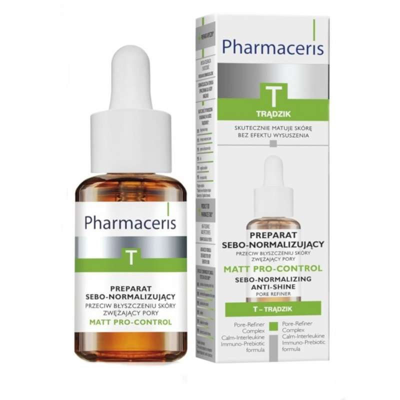 PHARMACERIS T MATT PRO-CONTROL Preparat sebo-normalizujący 30 ml
