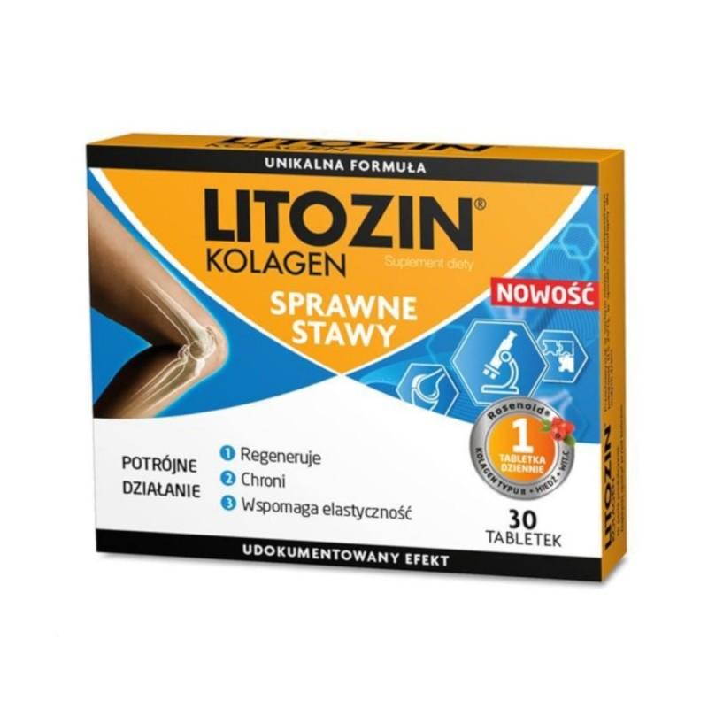 Litozin Kolagen tabletki , 30 tabletek , ORKLA