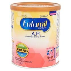 Mleko ENFAMIL AR 1 początkowe od urodzenia 400g