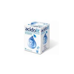 Acidolit bezsmakowy proszek do przygotowania roztworu, 10 saszetek, POLPHARMA