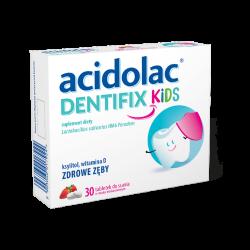 Acidolac Dentifix Kids, 30 tabletek do ssania, POLPHARMA