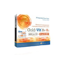 Olimp Gold-Vit D3+K2, 30 kapsułek, Olimp Labs
