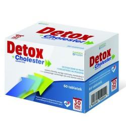 Detox + Cholester , 60 tabletek, GARDENPHARM