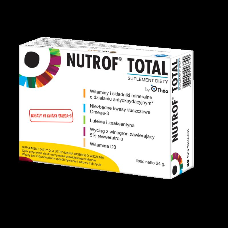 Nutrof Total kaps.żel. 30 kaps.