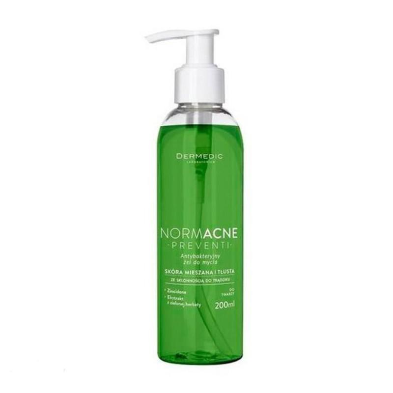 DERMEDIC NORMACNE PREVENTI Żel antybaktery do mycia twarzy, 200 ml