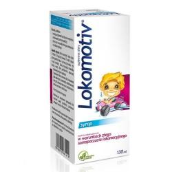 Lokomotiv, smak landrynkowy, syrop, 130 ml, Aflofarm