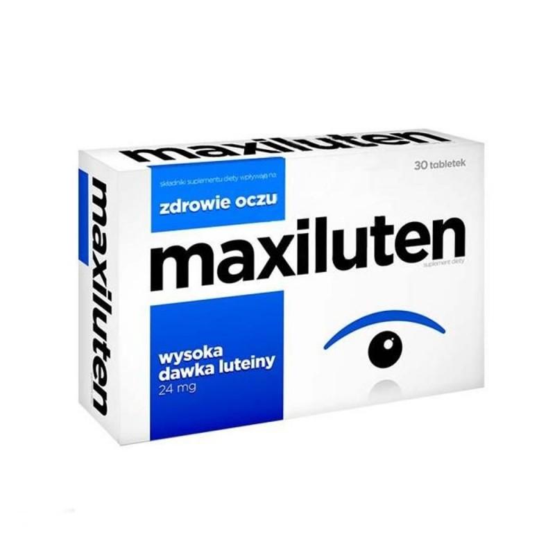 Maxiluten, 30 tabletek, Aflofarm