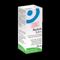 Hyabak nawilżaj. hypotoniczny krop.10ml