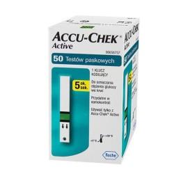 Accu-Chek Active test paskowy, 50 sztuk