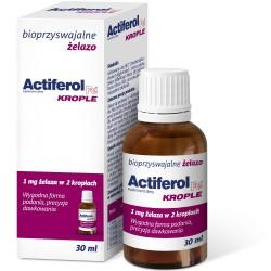 Actiferol Fe krople, zawiesina doustna 30 ml