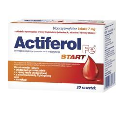 ActiFerol Fe START proszek do rozpuszczenia, 30 saszetek