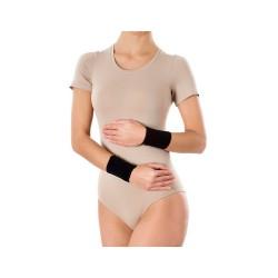Opaska elastyczna, nadgarstkowa, bezszwowa, czarna, rozmiar M, 1 sztuka,  PANI TERESA (PT 0309), Sig