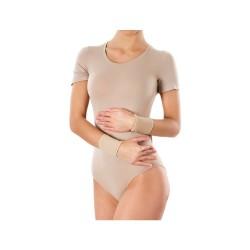 Opaska elastyczna, nadgarstkowa, bezszwowa, beżowa, rozmiar S, 1 sztuka,  PANI TERESA (PT 0309), Sig