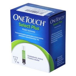 One Touch Select Plus test paskowy, 50 sztuk