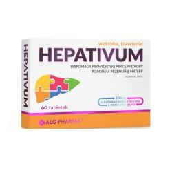 Hepativum, 60 tabletek, ALG PHARMA