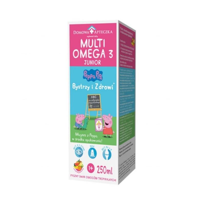 Multiomega 3 Junior 250 ml, DOMOWA APTECZKA