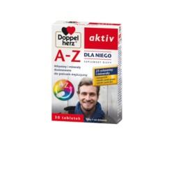 Doppelherz aktiv A-Z Dla Niego, 30 tabletek, QUEISSER