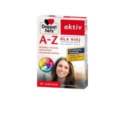 Doppelherz aktiv A-Z Dla Niej, 30 tabletek, QUEISSER