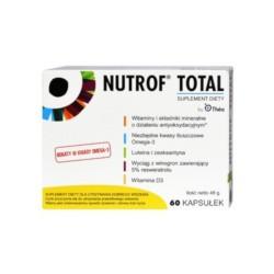 Nutrof Total + Witamina D3, 60 kapsułek, THEA