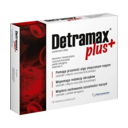 Detramax Plus, 30 tabletek powlekanych, NOVASCON