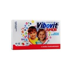Vibovit Junior o smaku truskawkowym 14sasz