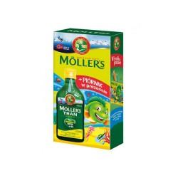 Moller's Tran Norweski cytrynowy + piórnik