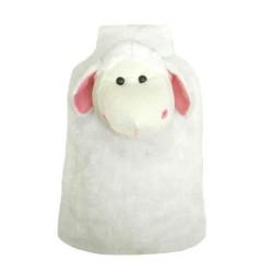 Termofor gumowy SANITY 2 litowy, w pokrowcu, owieczka
