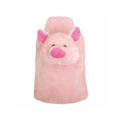 Termofor gumowy SANITY 2 litrowy, w pokrowcu, świnka