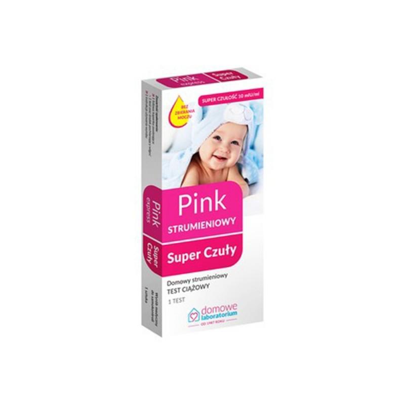 Test ciążowy PINK EXPRESS strumieniowy 1sz