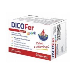 DICOFer Junior, proszek, 20 saszetek, Vitis Pharma