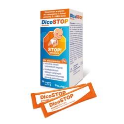 Dicostop płyn 10 sasz.